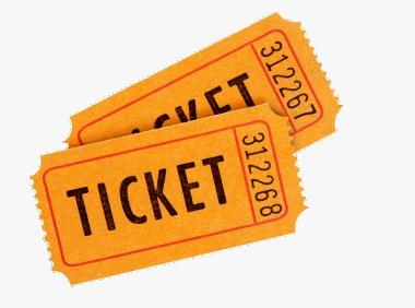 Ticket verplicht